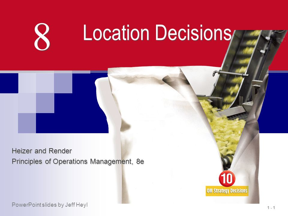 8 Location Decisions Heizer And Render Ppt Download
