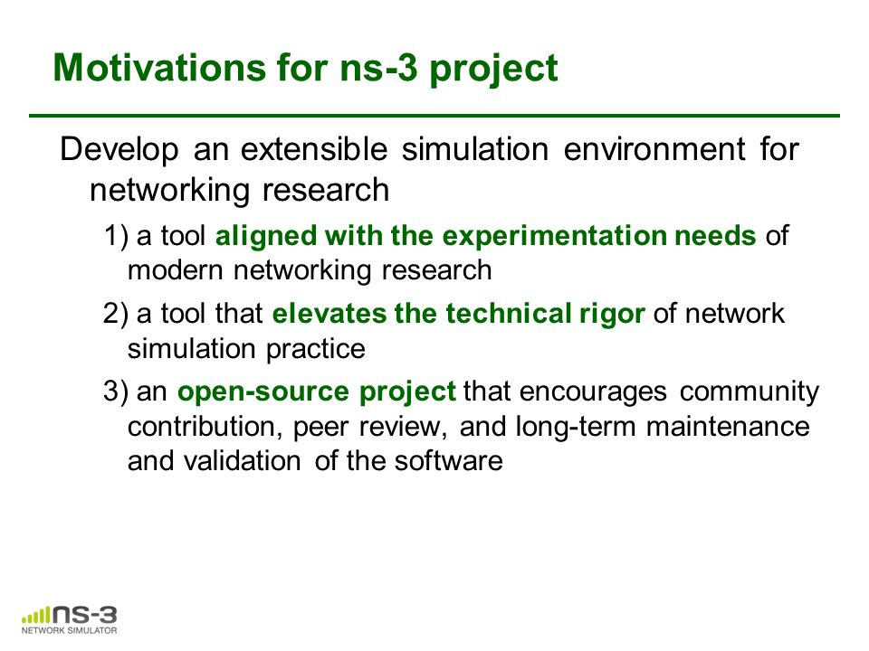 Introductions of SDN in NS-3 - ppt video online download