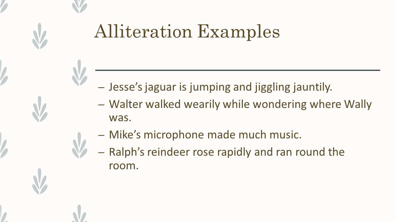 Figurative Language Elements Of Style Ppt Video Online Download