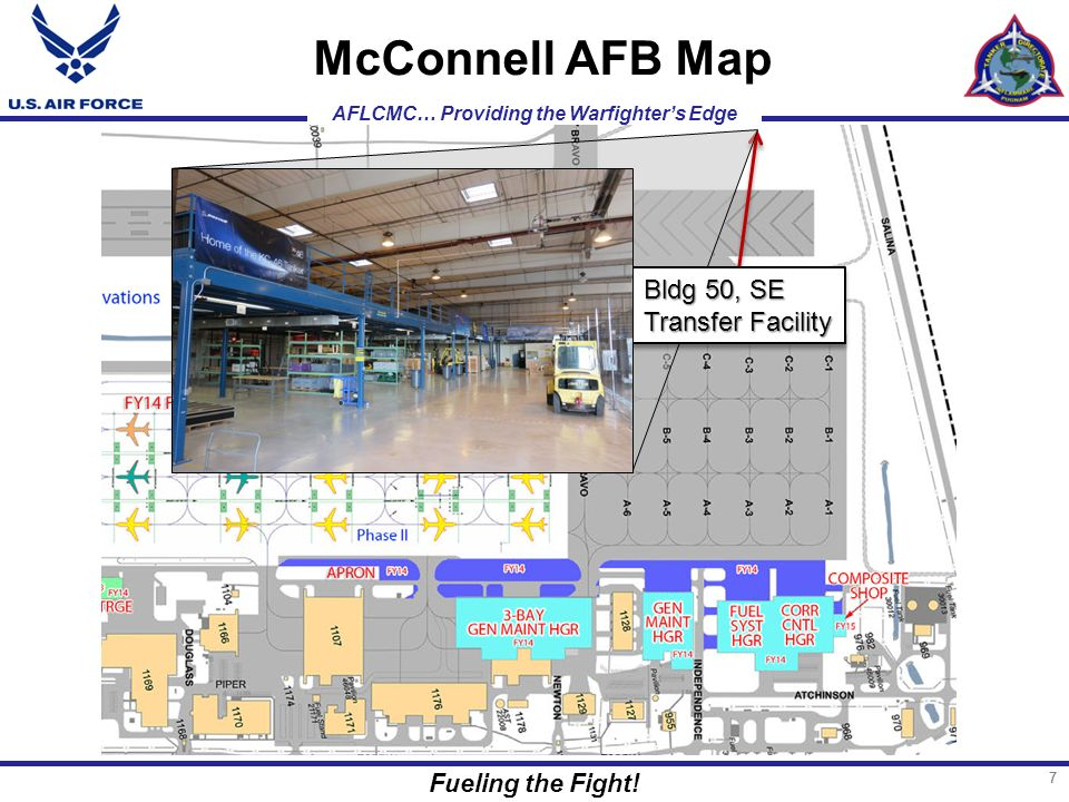 2016 tanker wwr kc 46 site activation overview ppt video online 7 mcconnell afb map bldg 50 se transfer facility 7 freerunsca Images
