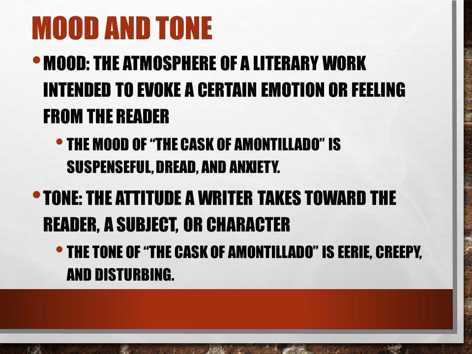 the cask of amontillado protagonist