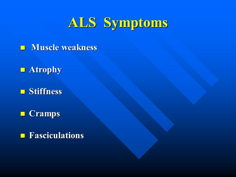 ALS-Management and Upcoming Clinical Trials - ppt video