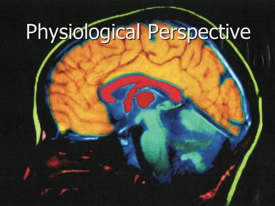 Physiological Perspective - ppt download