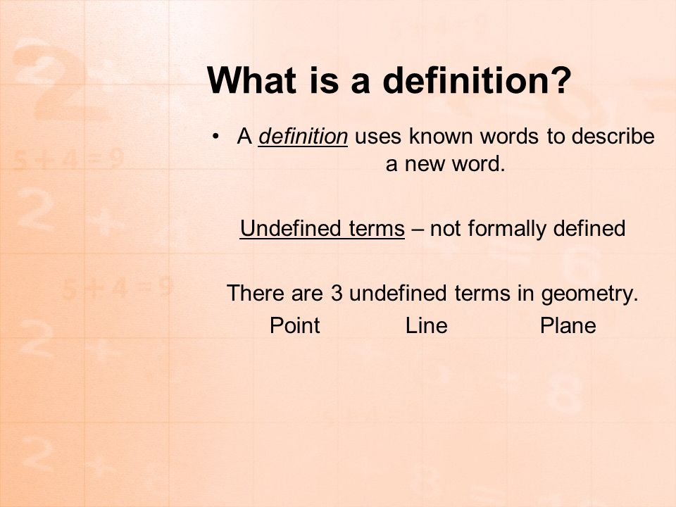 Points, Lines, and Planes - ppt download