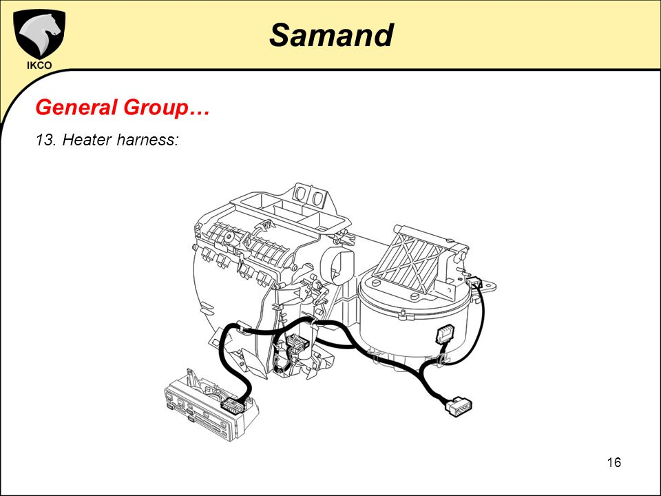 Ikco Samand Electrical System Presentation