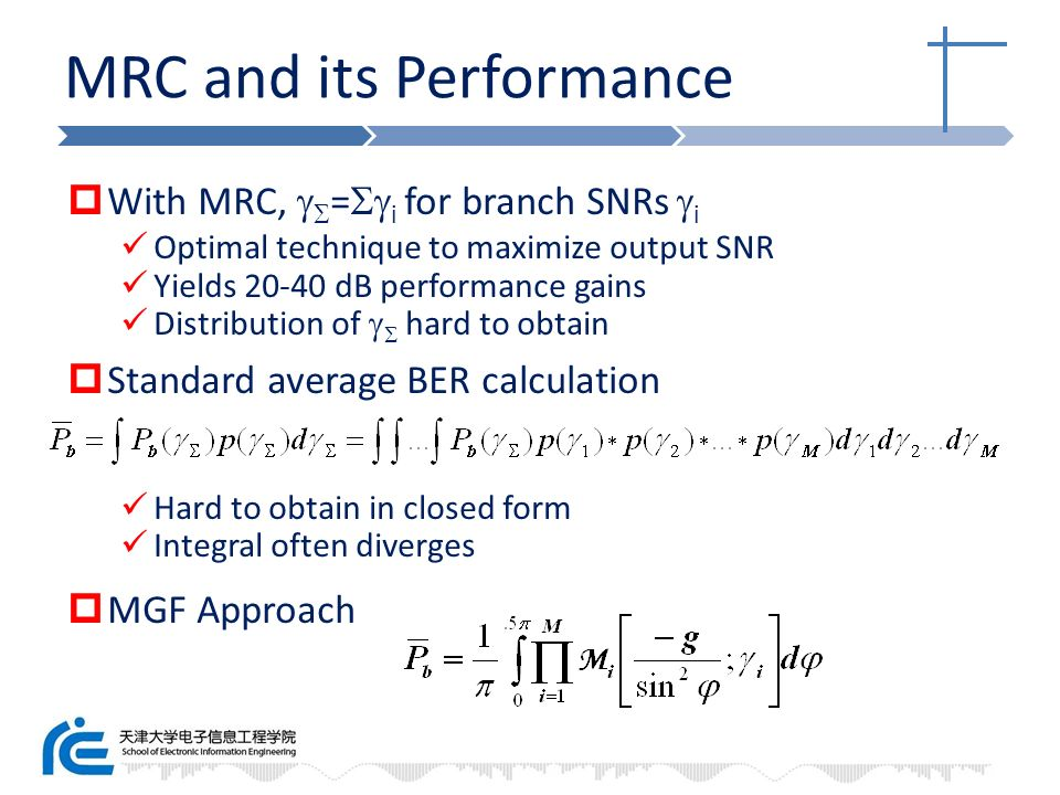 MRC and its Performance