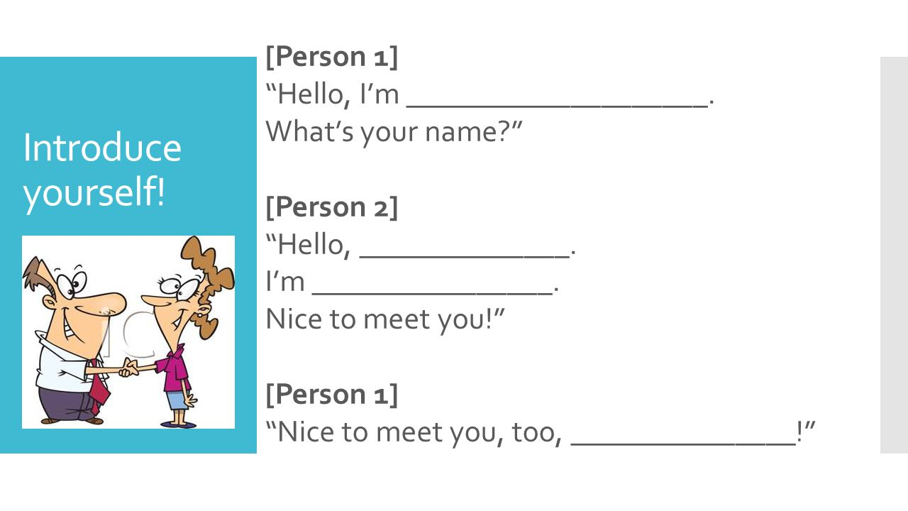 Greetings Introductions More Ppt Video Online Download