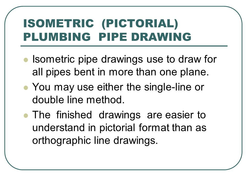 Line Drawing Using Direct Method : Piping drafting drawing ppt video online download