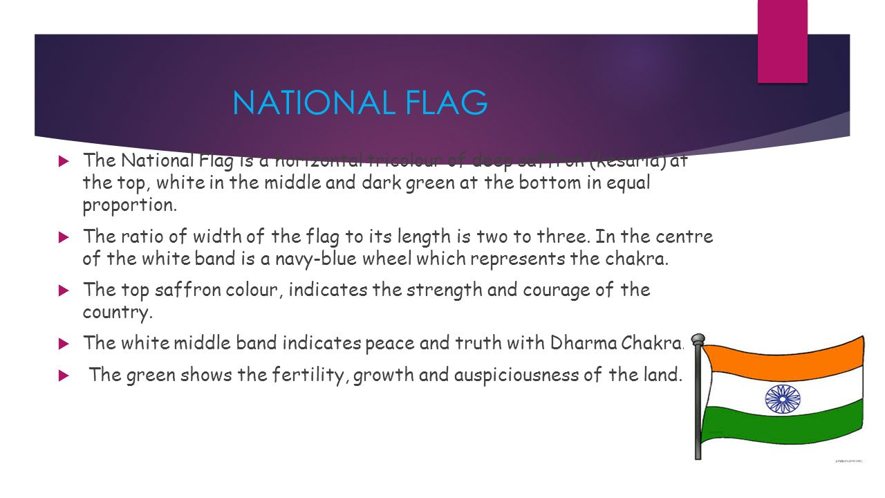 Presentation On National Symbols Of India For Class Iii Ppt Video