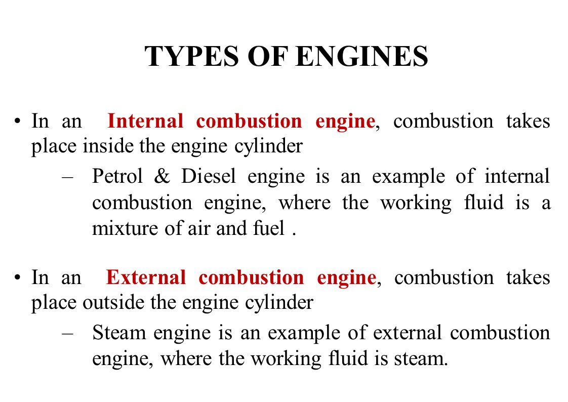 Lecture Ppt Download Internal Combustion Engine Diagram Of A Show How Works Types Engines In An Takes Place Inside The Cylinder