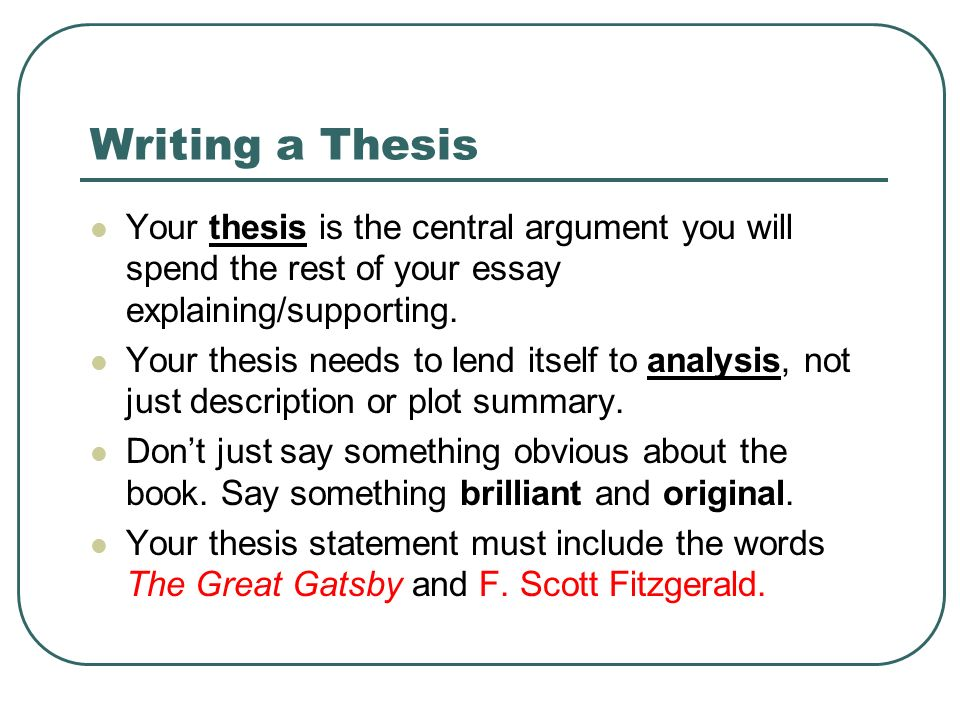 Science And Technology Essays  Essay On Health Promotion also History Of English Essay Establishing The Main Idea Of Your Critical Analysis Essay  What Is A Thesis Statement For An Essay