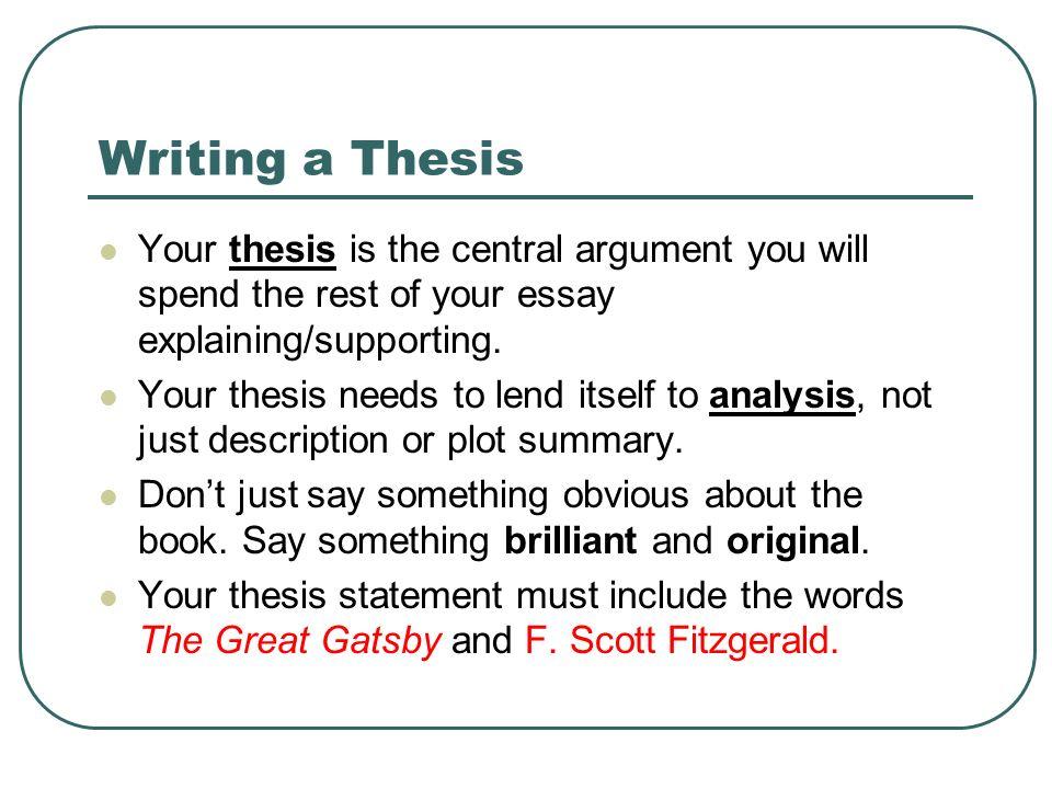 Responsive Essay  Teamwork Essay also Technology Essay Establishing The Main Idea Of Your Critical Analysis Essay  Essay On Food Crisis