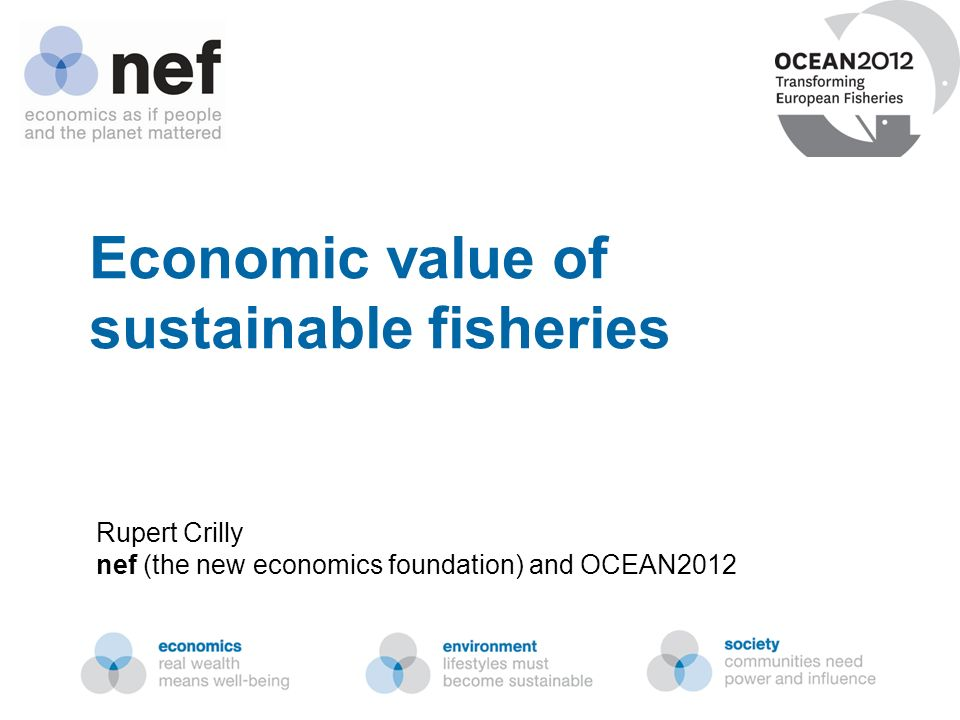 Economic value of sustainable fisheries