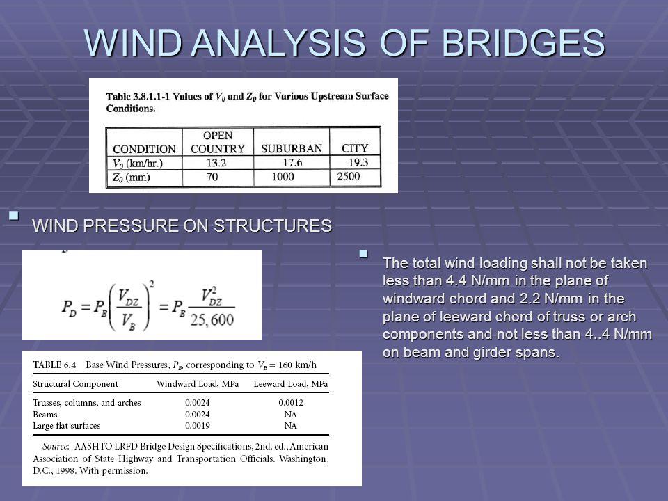 SEISMIC & WIND ANALYSIS OF BRIDGES - ppt video online download