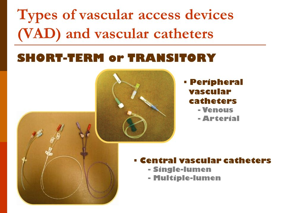 Preventing Vascular Access Device Div Infection Ppt Video Online