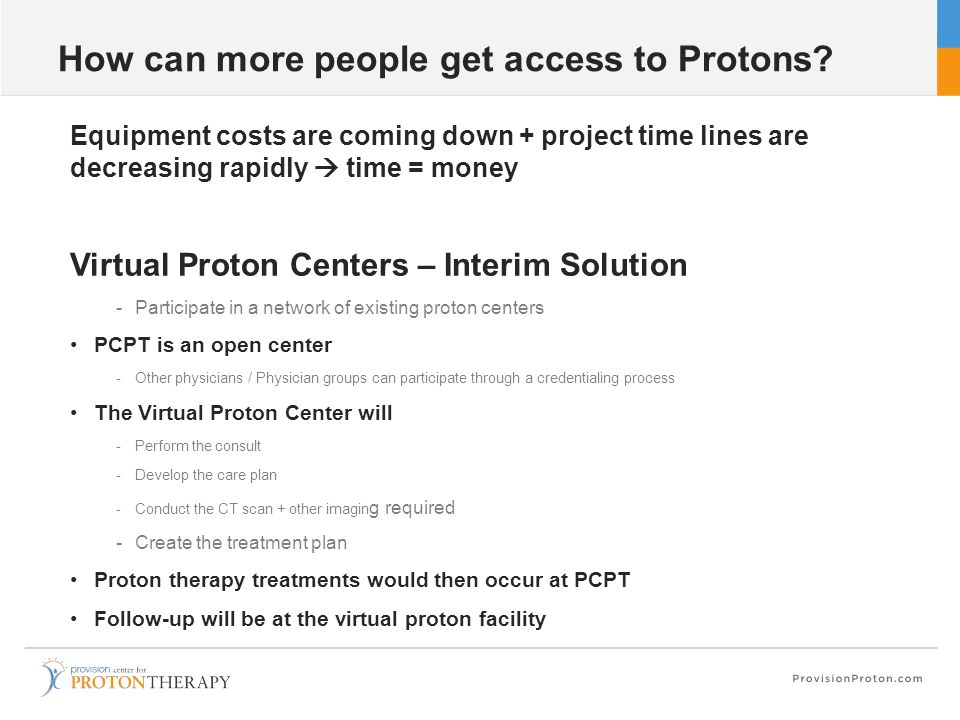How can more people get access to Protons