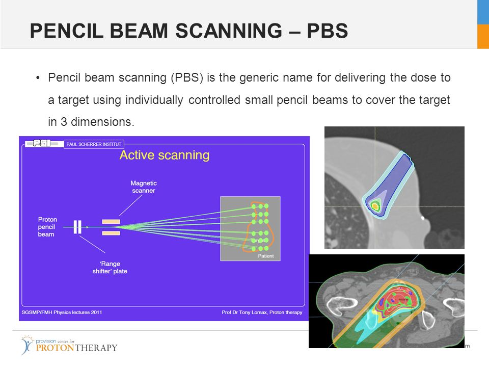 PENCIL BEAM SCANNING – PBS
