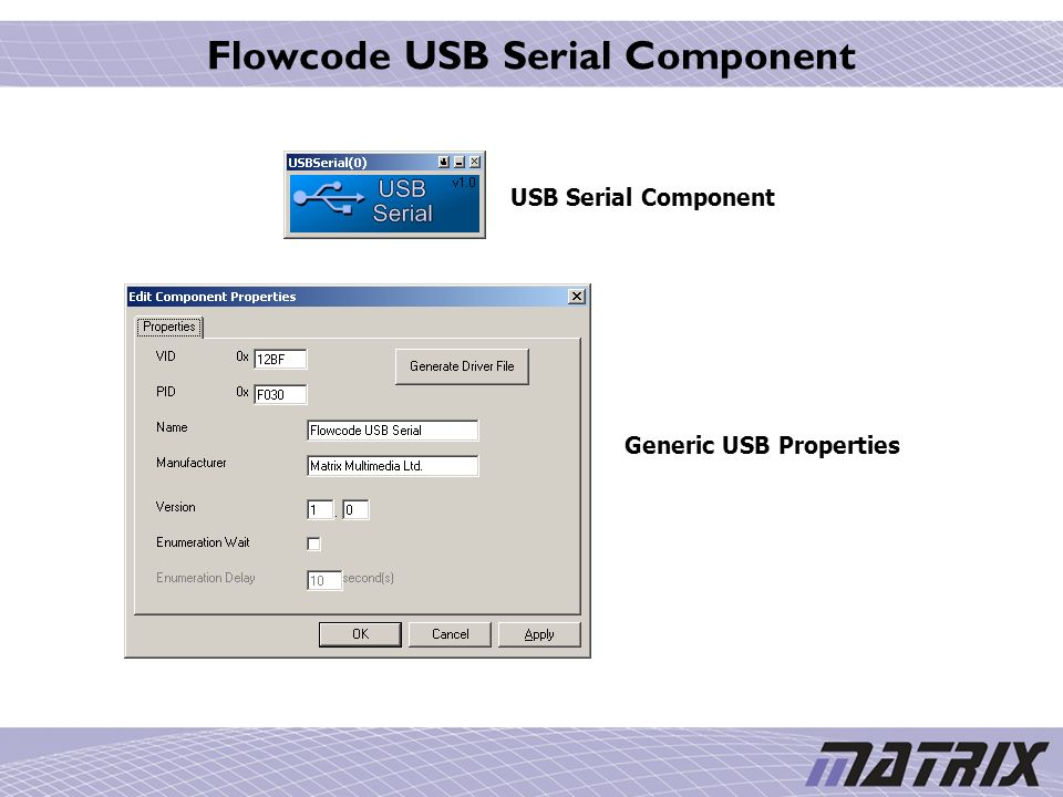 FLOWCODE USB SLAVE WINDOWS 10 DRIVER