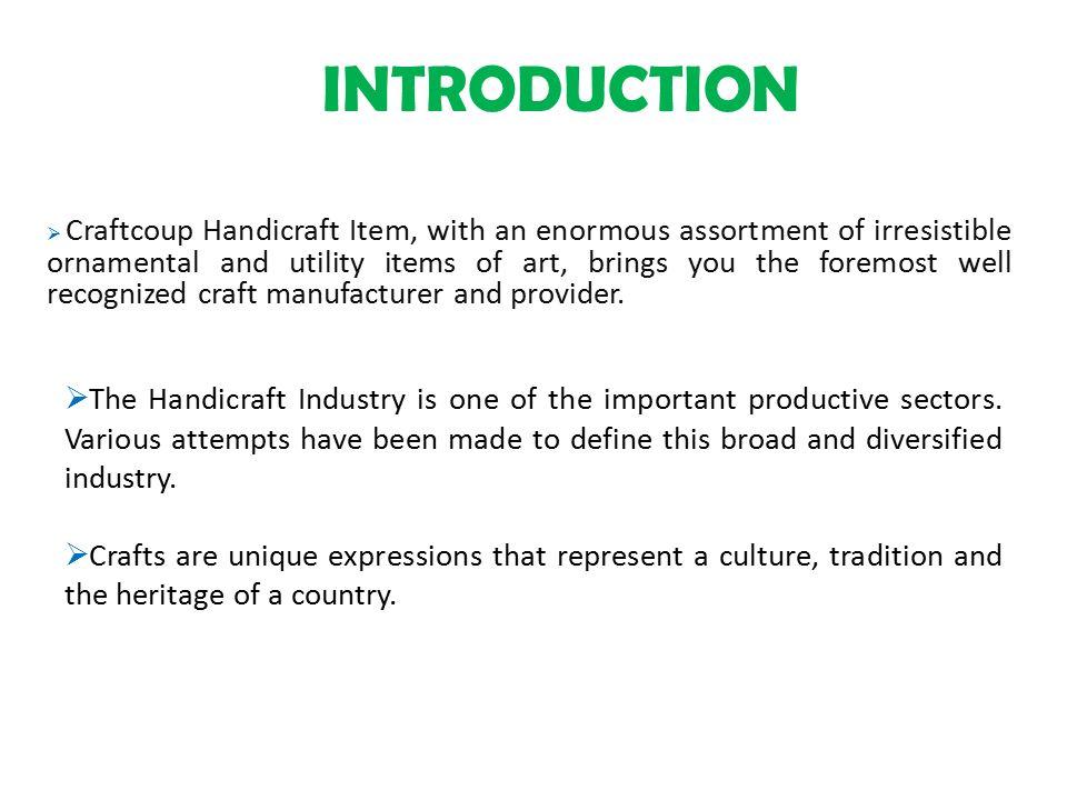 introduction of handicraft