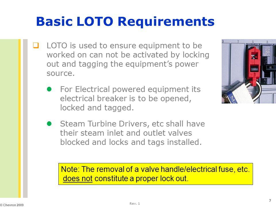 Hazardous Energy Isolation (LOTO) Awareness Plus - ppt video