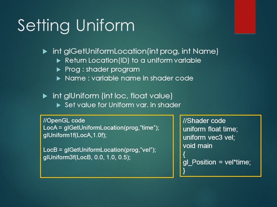 GLSL Basics Slides by : Wei-Wen Feng  - ppt download