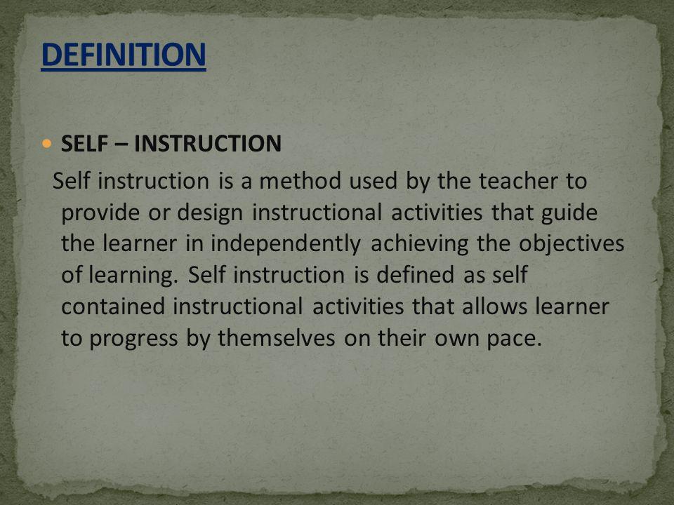 Self Instructional Module Ppt Video Online Download
