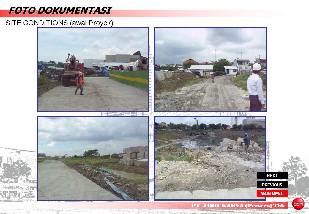Contoh Laporan Dokumentasi Proyek Jalan