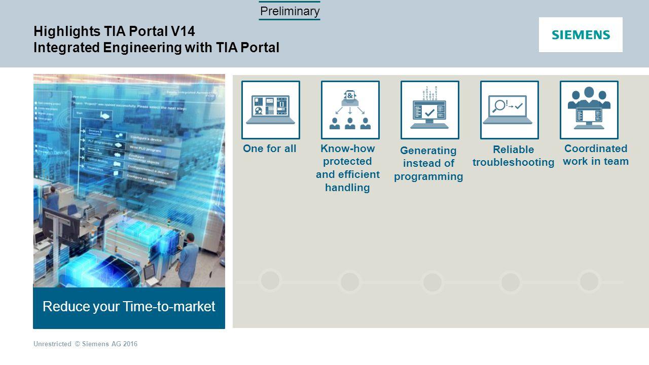 Highlights TIA Portal V14 Mai 2016 | Rihab Ehm - ppt video online