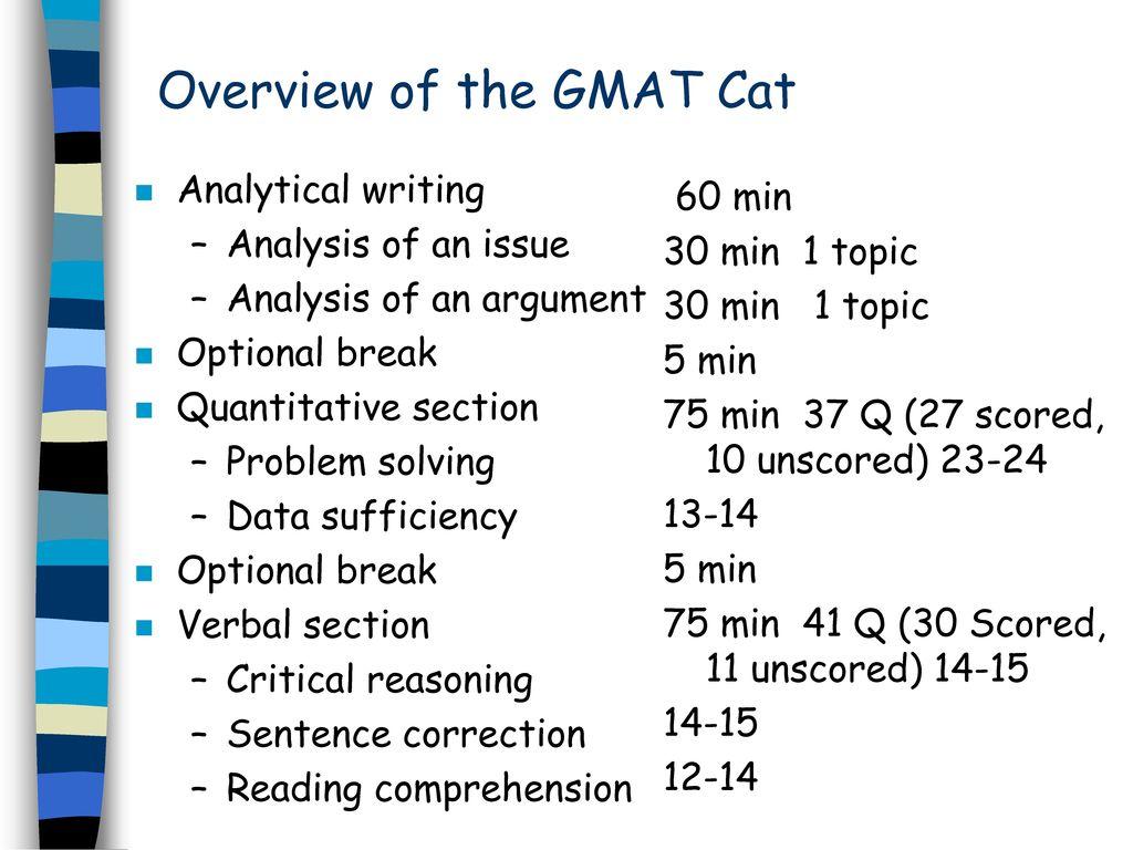 GMAT Verbal a success recipe  - ppt download
