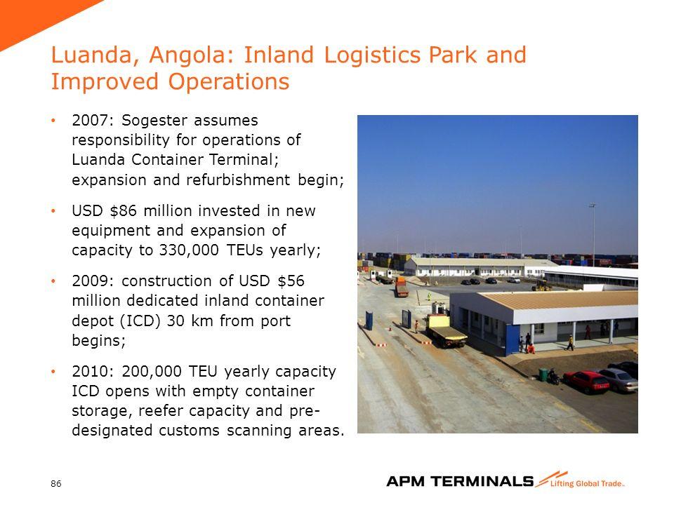 APM Terminals Company Presentation - ppt download