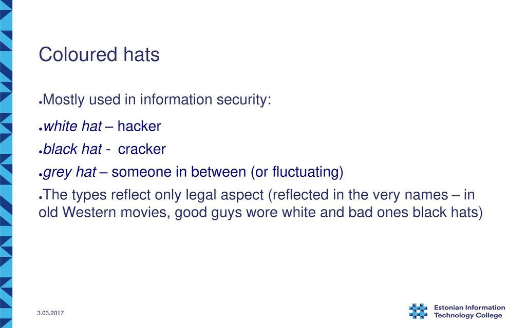 Hackers…? Kaido Kikkas SPEAIT 2015/ ppt download