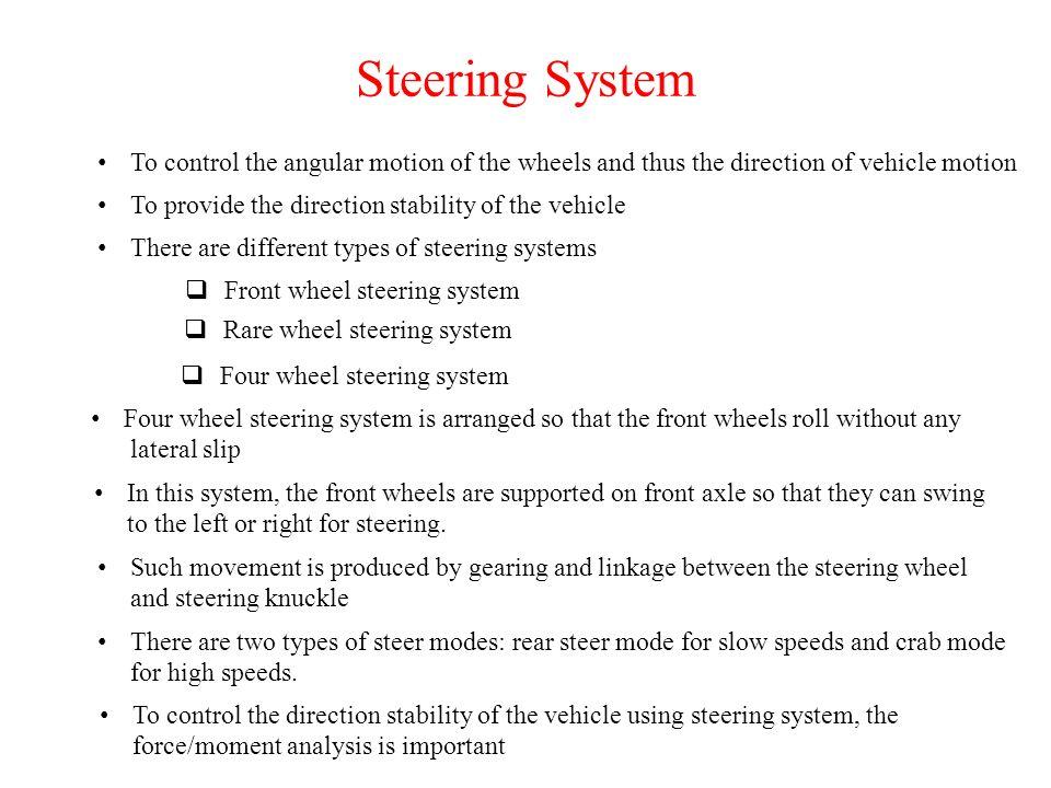 2 Steering