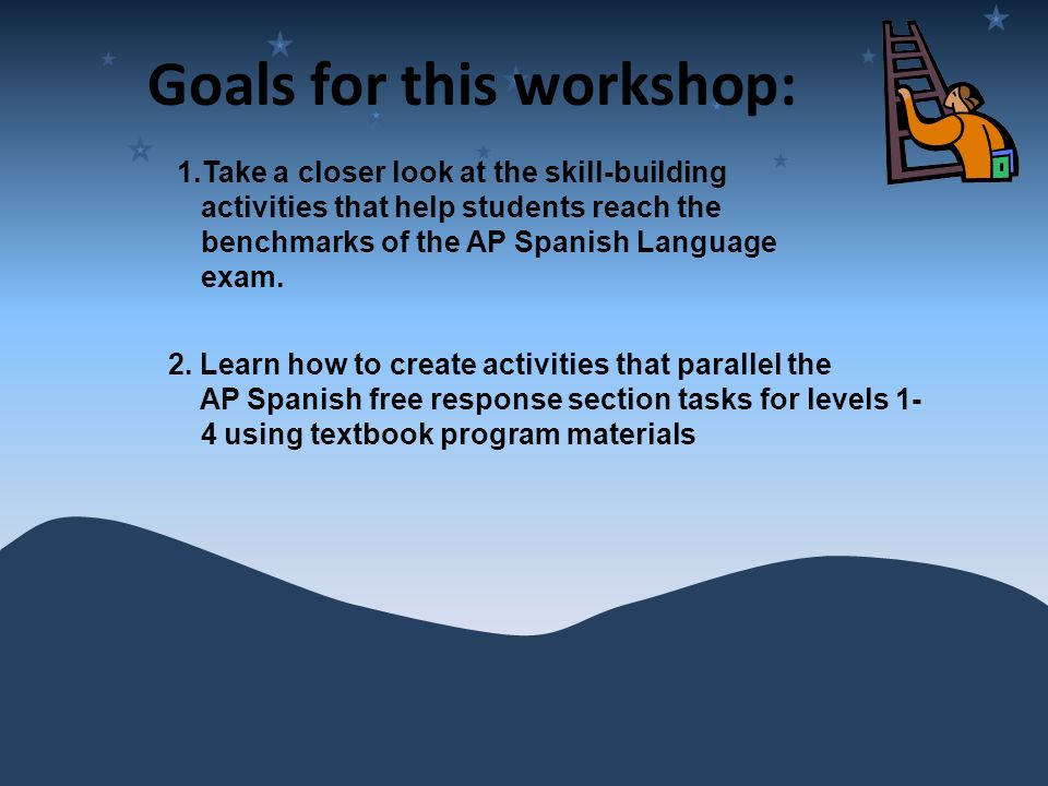 The Journey to the AP Spanish Language Exam - ppt video online download