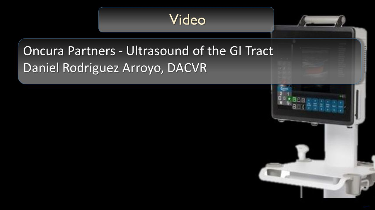 Ultrasound of the gastrointestinal tract ppt video online download dacvr free powerpoint templates video oncura partners ultrasound of the gi tract toneelgroepblik Choice Image