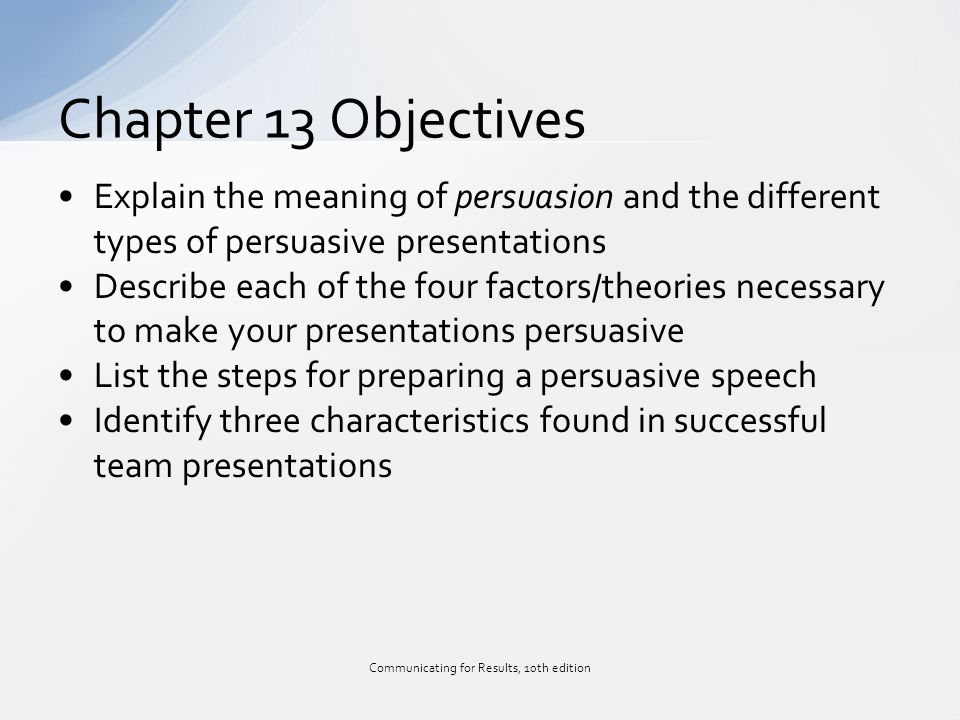 persuasive speech steps