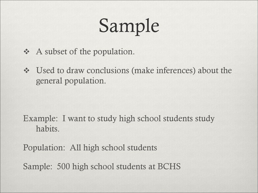 Workbooks inference worksheets high school : Introduction to Statistics - ppt video online download