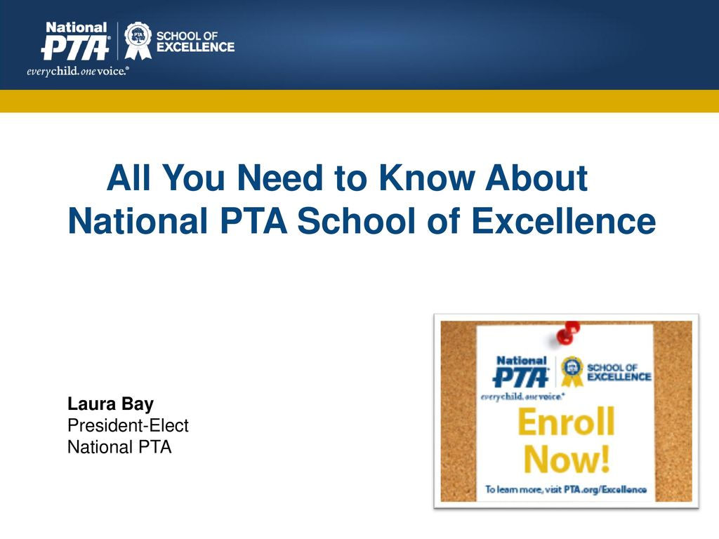 All You Need to Know About National PTA School of Excellence