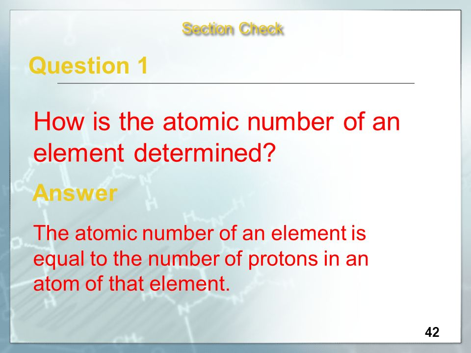 how to find atomic number of an atom