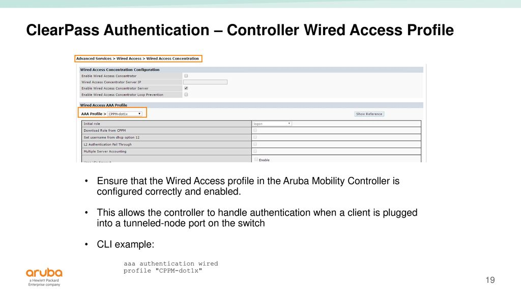 ArubaOS-Switch Tunneled Node - ppt video online download