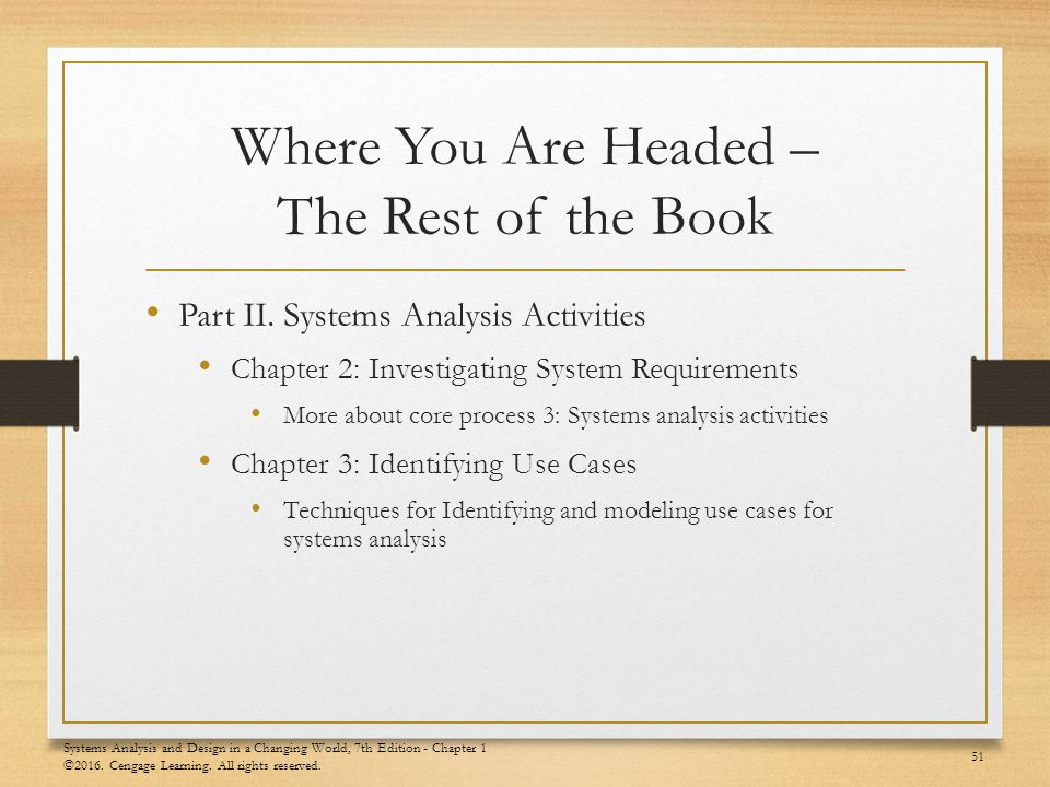 Chapter 1 Systems Analysis And Design In A Changing World 7th Edition Chapter 1 C Ppt Video Online Download