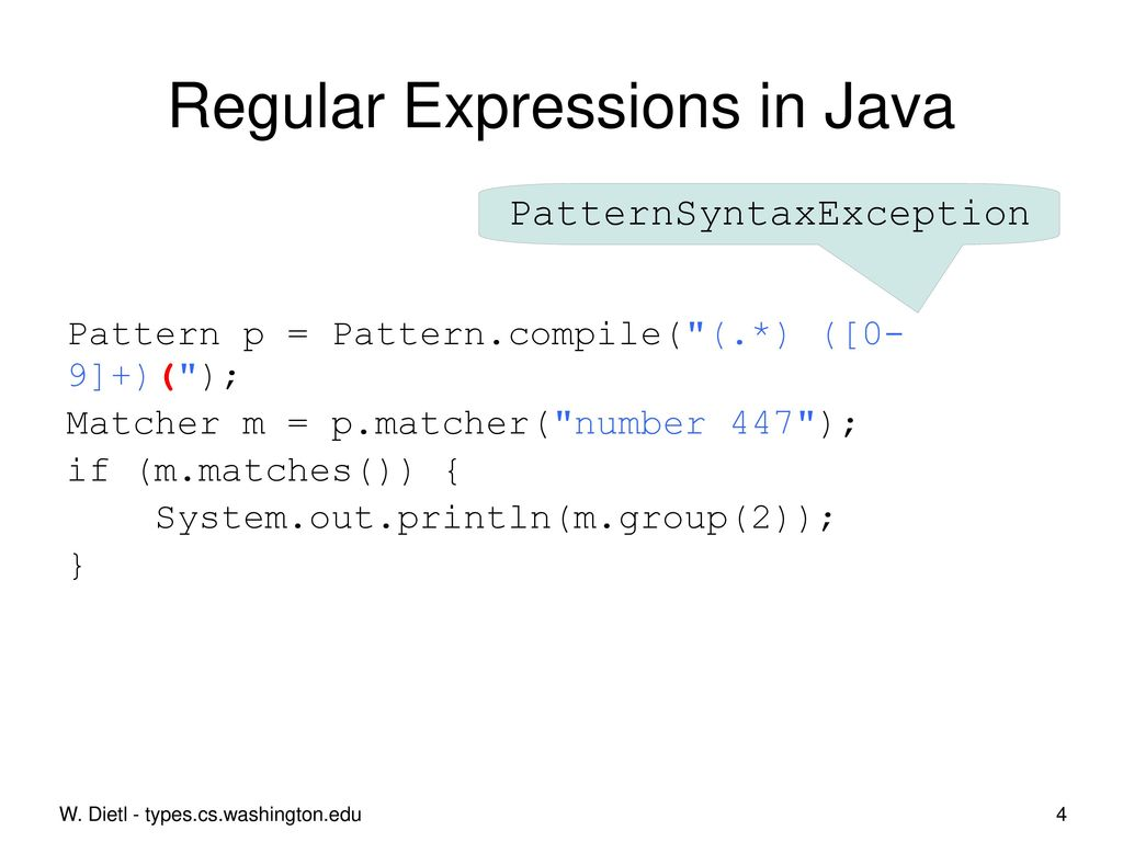 for regular expressions - ppt download