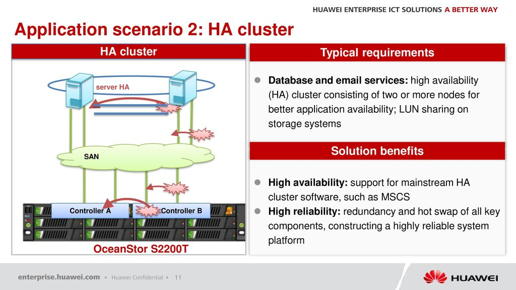 Huawei OceanStor S2200T Pre-sales Specialist Training - ppt