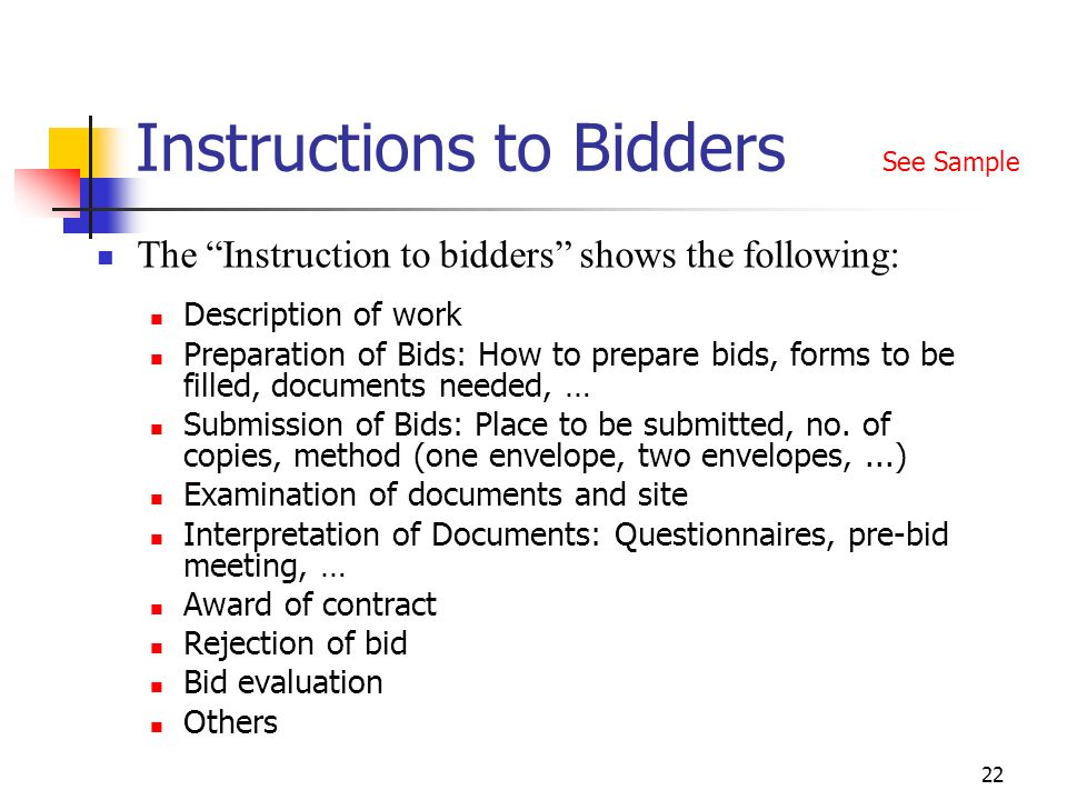 Fidic Tendering Procedures Ppt Video Online Download