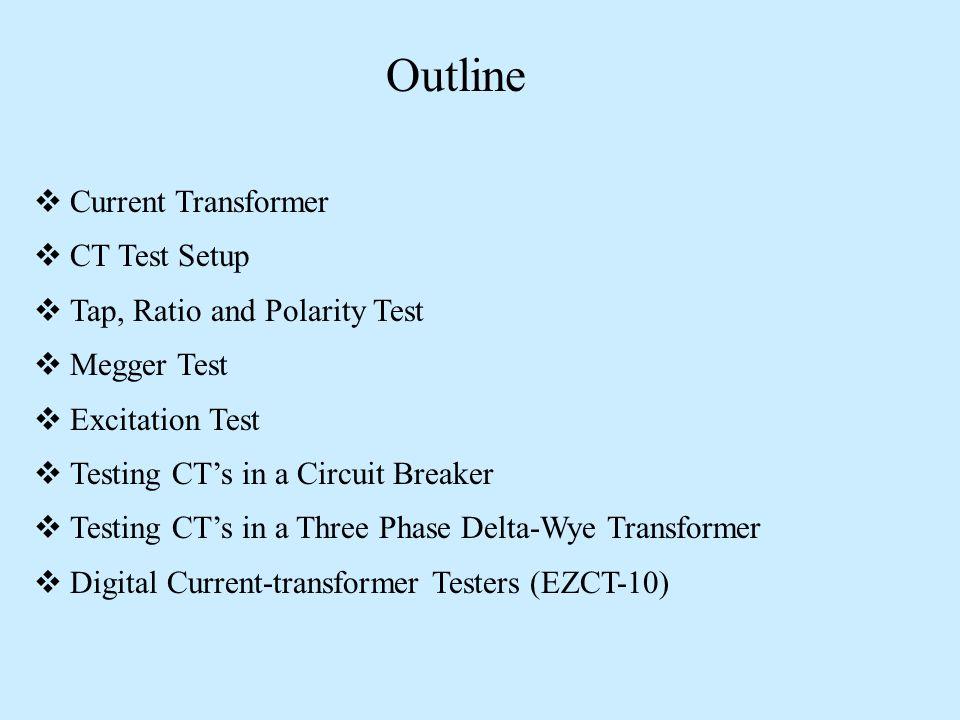 Current Transformer Testing - ppt video online download