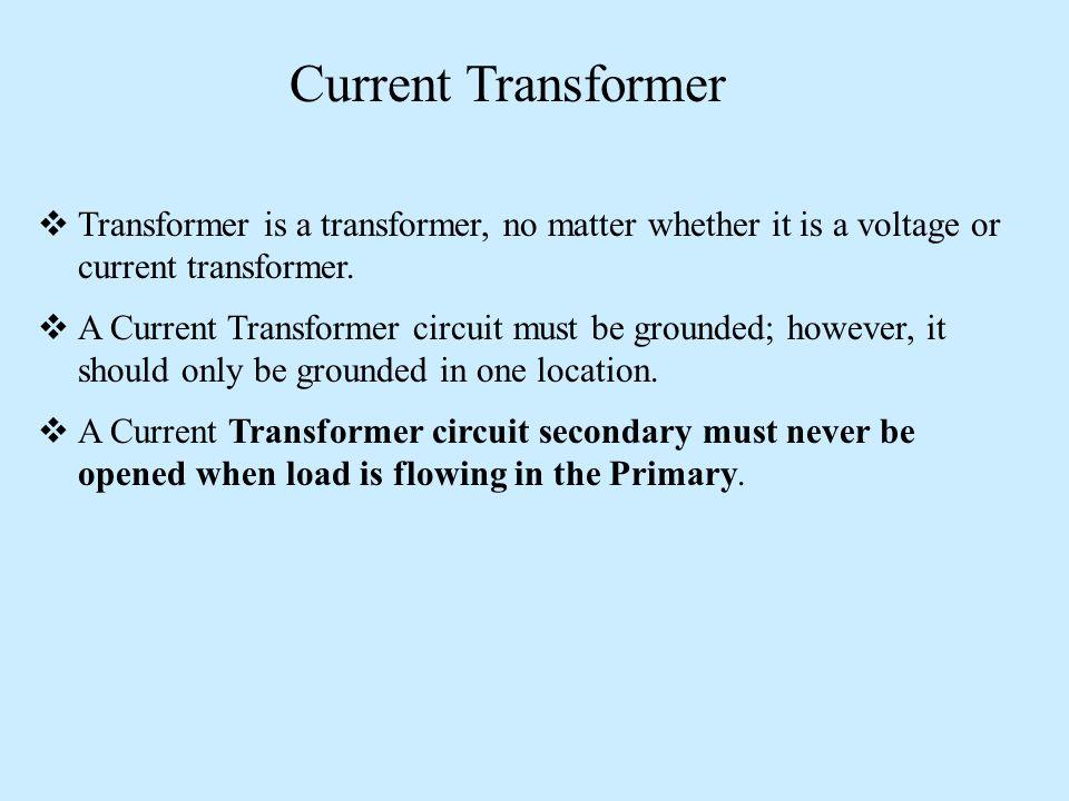 Instrument transformers | current transformer | potential.