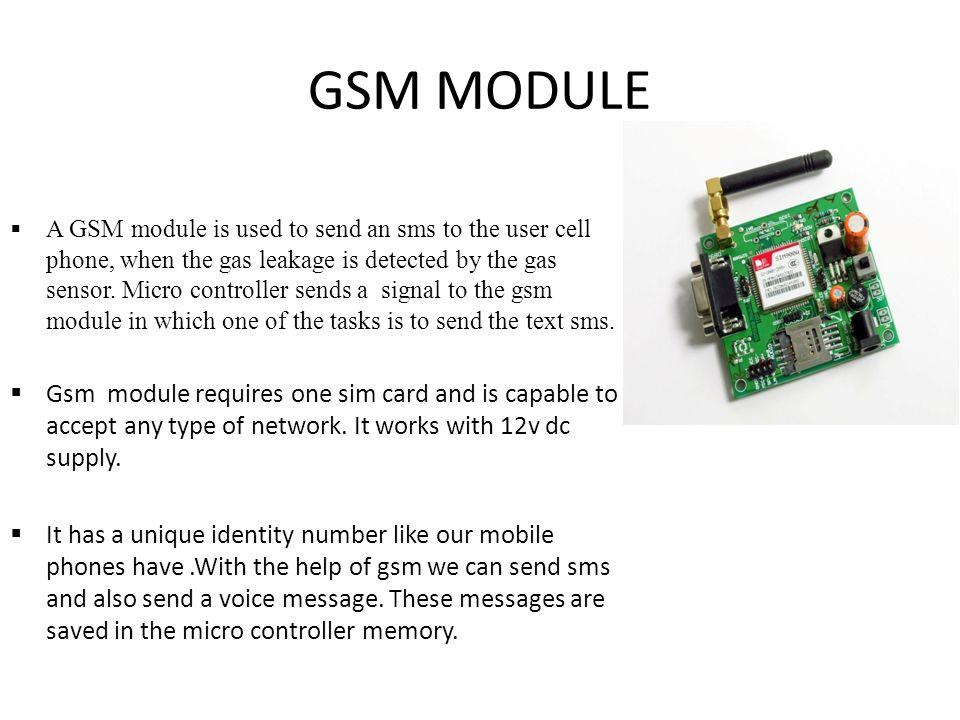 Gsm presentation.