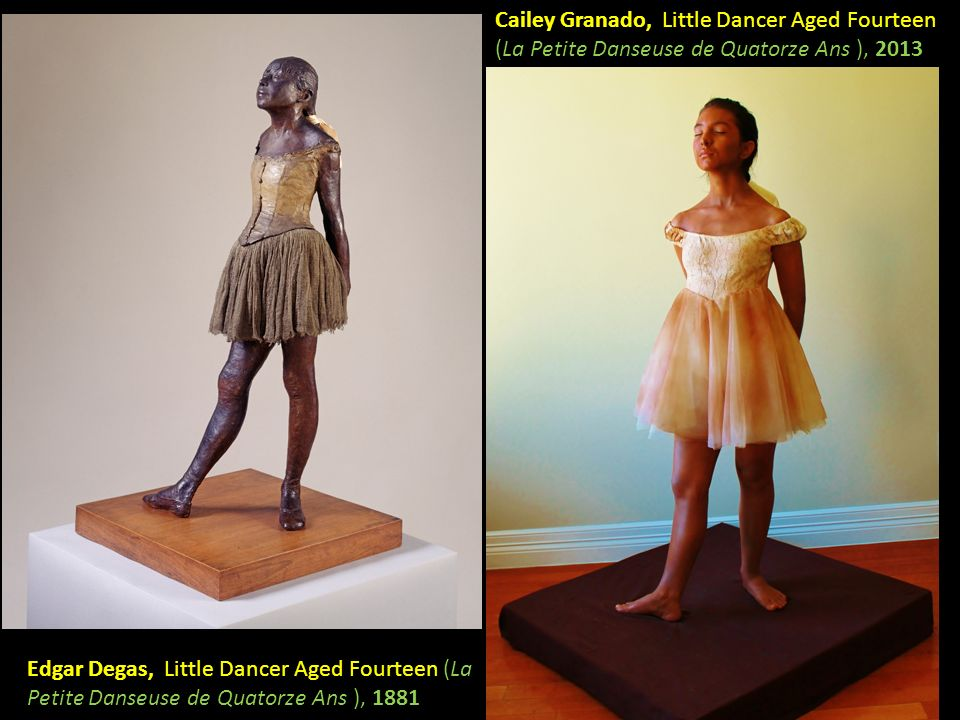 Cailey Granado, Little Dancer Aged Fourteen (La Petite Danseuse de Quatorze Ans ), 2013