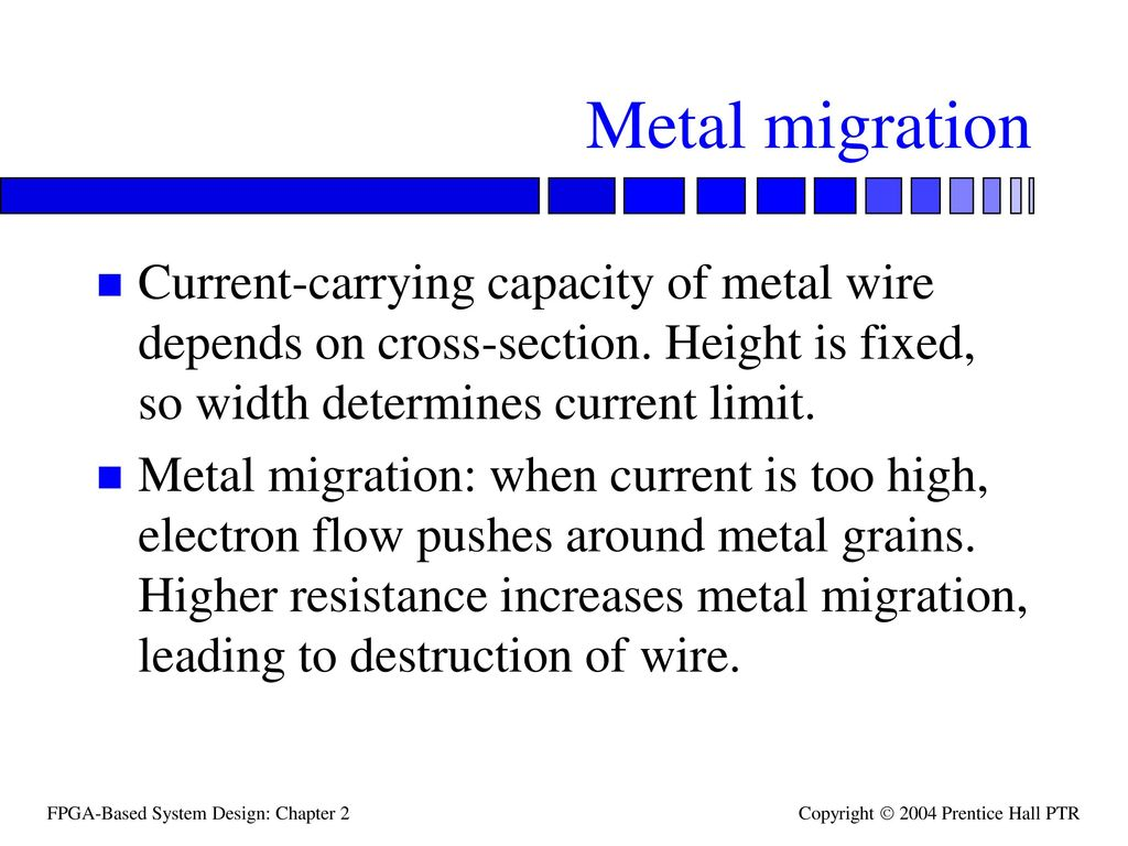 Wire current limit wire center topics wire and via structures wire parasitics ppt video online rh slideplayer com wire gauge and current limits including skin depth and strength wire keyboard keysfo Images