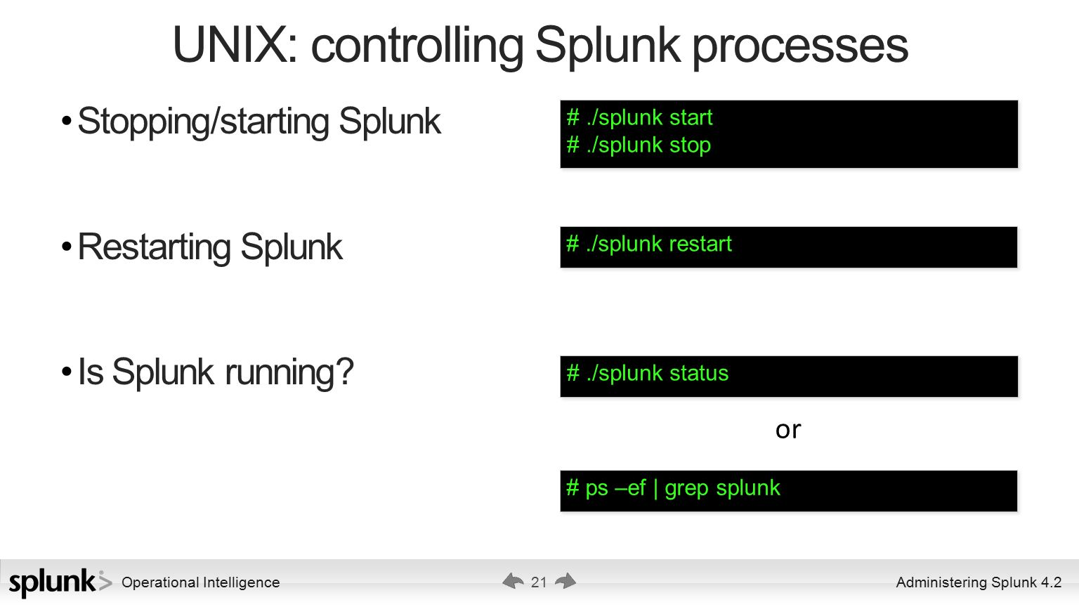 Administering Splunk 4 2 Ver ppt download