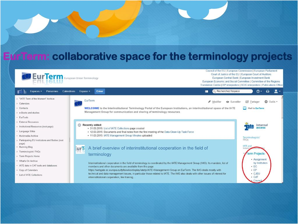 Eu Terminology In The Age Of Digital Communication Ppt Download